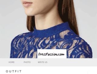 dresspassion.com screenshot