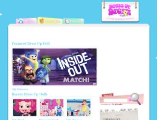 dressupdream.com screenshot