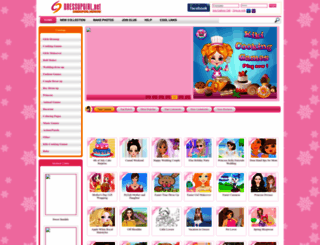 dressupgirl.net screenshot