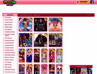 dressupwho.com screenshot