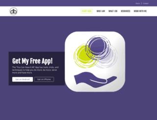 drewberman.com screenshot
