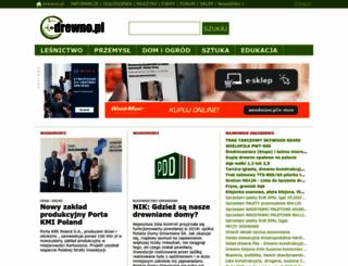 drewno.pl screenshot