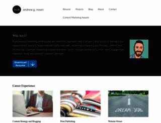 drewrosen.com screenshot