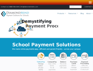 drewschool.diamondmindinc.com screenshot