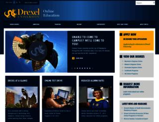 drexel.com screenshot