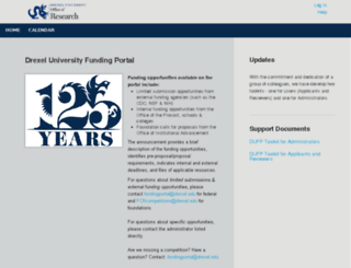 drexel.infoready4.com screenshot