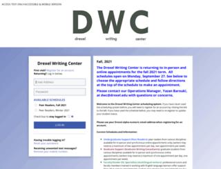 drexel.mywconline.com screenshot