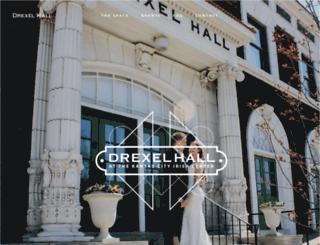 drexelhall.com screenshot