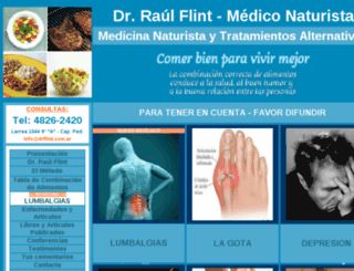 drflint.com.ar screenshot
