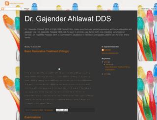 drgajenderahlawatdds.blogspot.ca screenshot