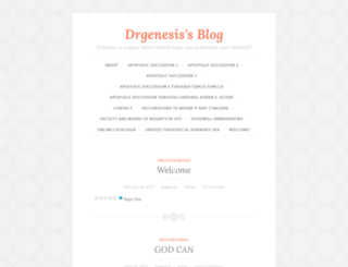 drgenesis.wordpress.com screenshot