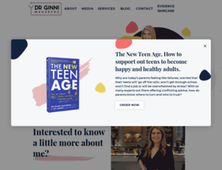 drginni.com.au screenshot