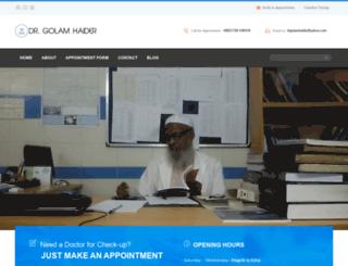 drgolamhaider.com screenshot