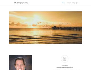 drgregorycasey.com screenshot