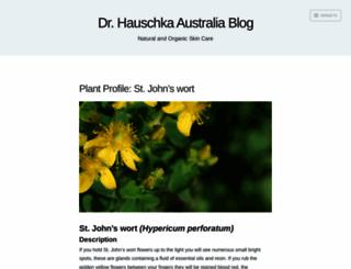 drhauschkaaus.wordpress.com screenshot