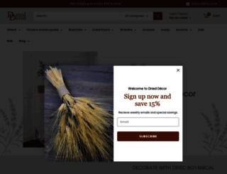 drieddecor.com screenshot