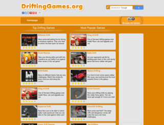 driftinggames.org screenshot