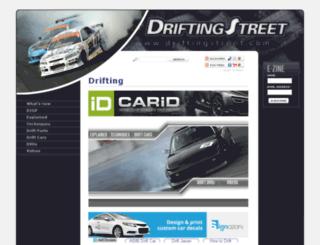 driftingstreet.com screenshot