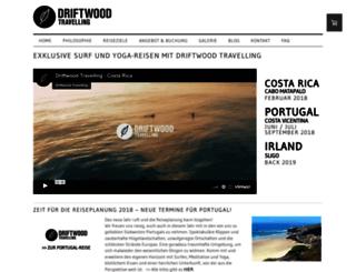 driftwood-travelling.com screenshot