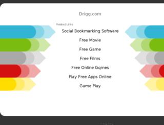 drigg.com screenshot