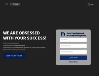 driggstitle.com screenshot