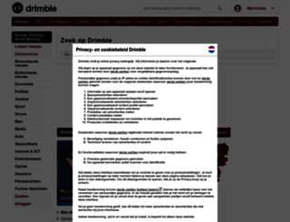 drimble.nl screenshot