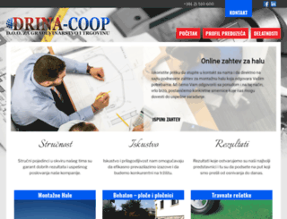 drinacoop.rs screenshot