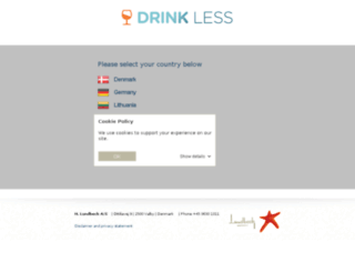 drink-less.com screenshot