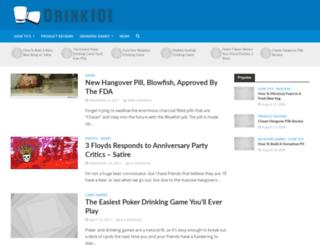 drink101.com screenshot