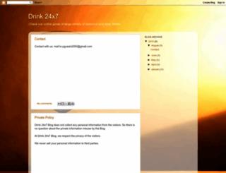 drink24x7.blogspot.com screenshot