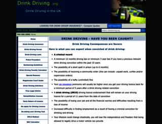 drinkdriving.org screenshot