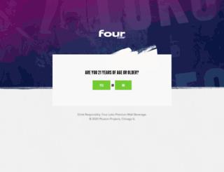 drinkfour.com screenshot