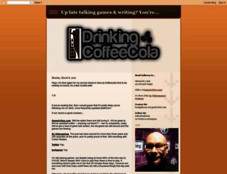 drinkingcoffeecola.blogspot.com screenshot
