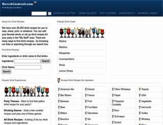 drinkswap.com screenshot