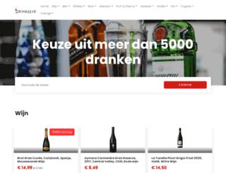 drinkzz.nl screenshot