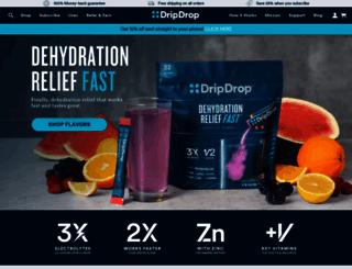 dripdrop.com screenshot