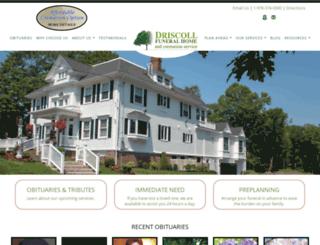 driscollcares.com screenshot