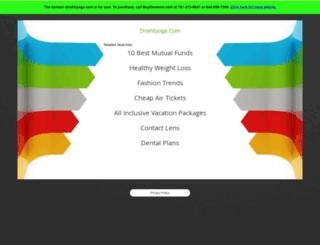 drishtiyoga.com screenshot