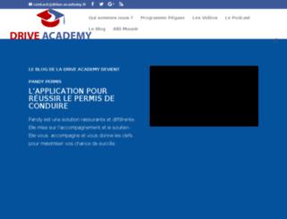 drive-academy.net screenshot