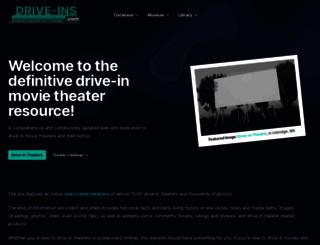 drive-ins.com screenshot