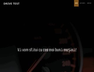 drive-test.ro screenshot