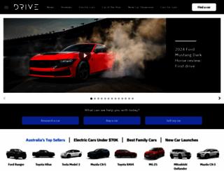 drive.com.au screenshot