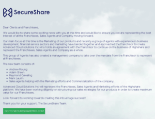 drive.highshare.com screenshot