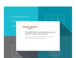 drive.syr.edu screenshot