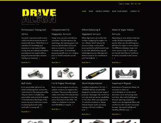 drivealign.com screenshot