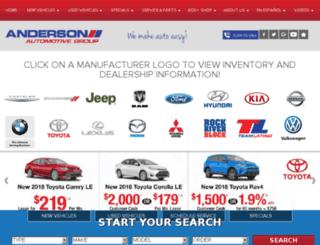 driveanderson.com screenshot
