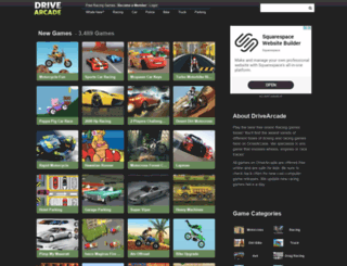 drivearcade.com screenshot