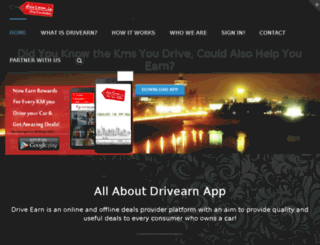 drivearn.in screenshot