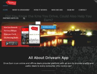 drivearn.in screenshot