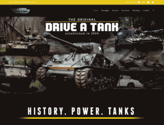 driveatank.com screenshot